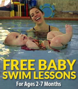 free baby swim classes