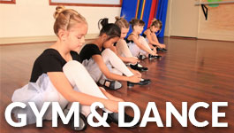 kids gym and dance lessons